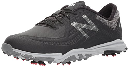 New Balance Men's Minimus Tour Waterproof Spiked Comfort Golf Shoe, Black, 7 D D US