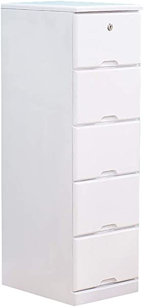 WSNBB Solid Wood Bedside Cabinet File Cabinet Multi Layer Drawer Large Storage Lockable Design Available In 4 Sizes Size C