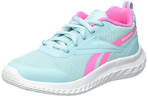 Reebok Rush Runner 3.0, Zapatillas de Running Mujer, DIGGLW/KICPNK/Blanco, 39 EU