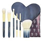 Juego de brochas de maquillaje, herramientas profesionales de maquillaje para principiantes, brochas para base, brochas para sombras de ojos, brochas para cejas
