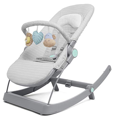 aden + anais 3-in-1 Infant to Toddler Transition Seat, Reclining Rocker,...