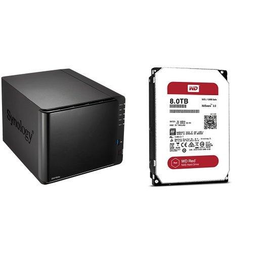 Synology DiskStation DS416play 4ベイNASキット 高性能デュアルコアCPU搭載 CS6493