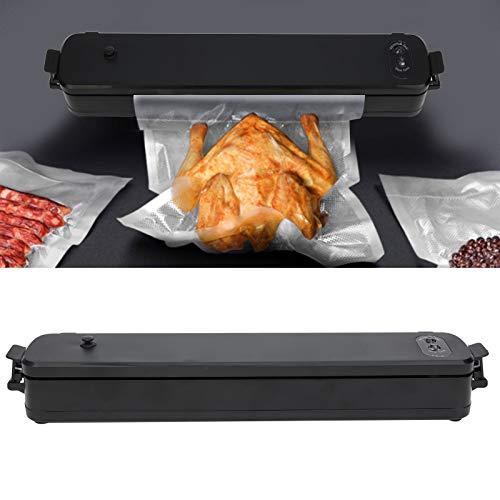 Máquina de envasado al vacío Máquina de envasado al vacío portátil de diseño compacto, Sellador automático de alimentos fácil de limpiar 90W Enchufe de la UE Viaje en automóvil para cocina