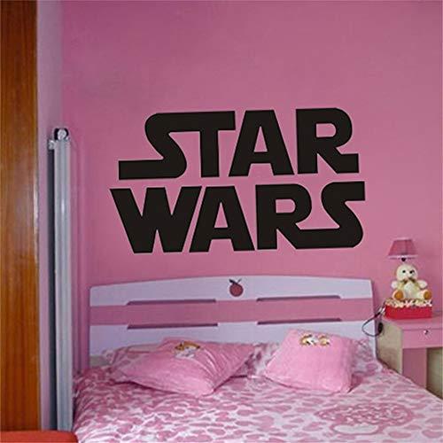 Riesige Star Wars Starwars Logo Schlafzimmer Star War Wand Schablone Aufkleber