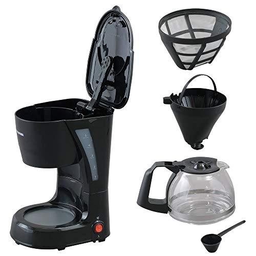 アイリスオーヤマコーヒーメーカーブラックCMK-652-B