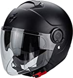 Scorpion Casco Moto exo-city, Matt black, l