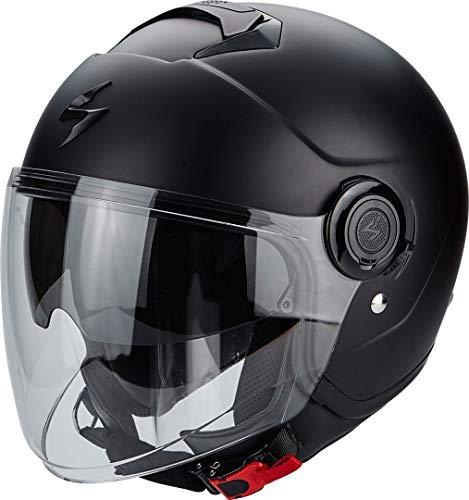 Scorpion Motorrad-Helm Exo-City, mattschwarz, Größe L
