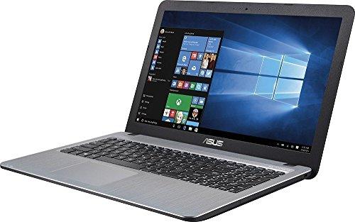 Asus Vivo Book Flagship High Performance 15.6 inch (1366 x 768) HD Laptop PC | Intel Pentium N3700 Quad-Core | 1.60 GHz | 4GB RAM | 500GB HDD | DVDRW | WIFI | Webcam | Windows 10 | Silver