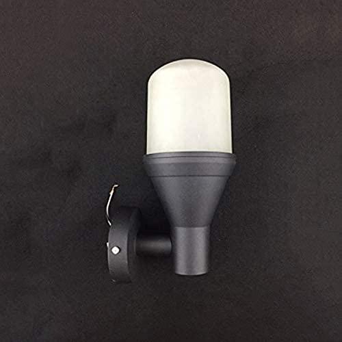 FDABFU Luz de Camping Aplicación de Pared Exterior Impermeable Luz de Valla de Aluminio Accesorios Especiales Aplique de Pared