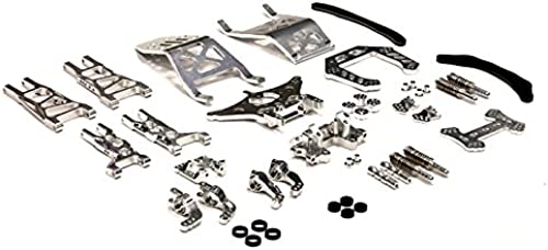 Integy RC Model Hop-ups T8032Silber Evolution Conversion Set for Traxxas 1 10 Electric Stampede 2WD