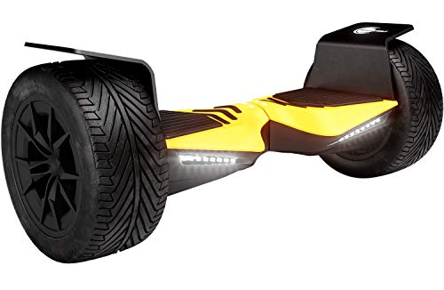 Wheelheels Balance Scooter, Hoverboard, F-Cruiser - Made In Germany (Gelb)