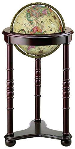 Replogle Globes Lancaster Illuminated Globe, Antique Ocean, 12-Inch Diameter, Large, Off-White