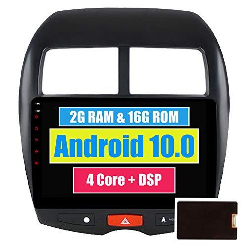 RoverOne Android 7.1 Système Voiture GPS Player Pour Mitsubishi ASX pour Peugeot 4008 pour Citroen C4 avec Autoradio Radio Stéréo Radio Bluetooth HDMI Miroir Lien Quad Core Système Multimédia