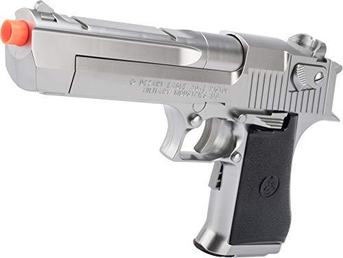 Evike Tokyo Marui Licensed Desert Eagle 50AE Airsoft EBB AEP Pistol (Color: Silver)