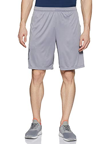 Under Armour Men's Tech Graphic Shorts , Steel (035)/Black , X-Large
