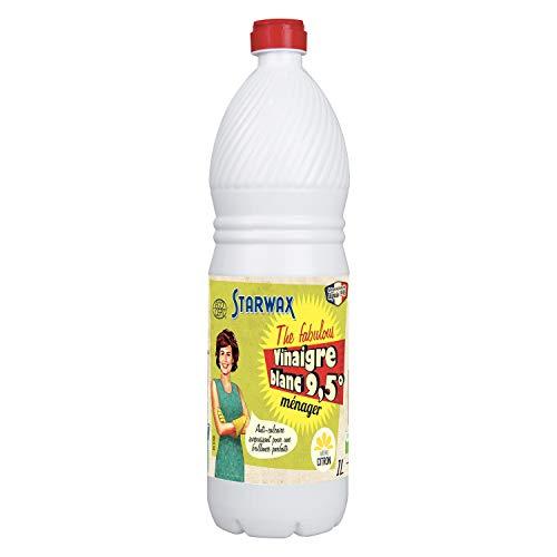 STARWAX FABULOUS Blanco, Contiene vinagre 9,5 ° de acidez. El 100% de los Ingredientes Son de Origen Natural. Fragancia, NC, 1 L