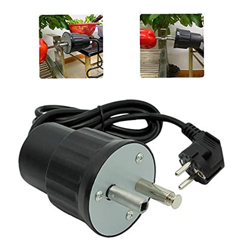 TOPofly Barbacoa Parrilla Motor eléctrico Giratorio AC BBQ Soporte de asado 220-240V...