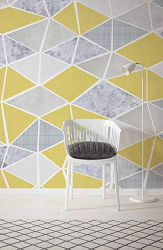 Komar Vlies Fototapete YESTERDAY, 400 x 250 cm (Breite x Höhe), Tapete, Schlafzimmer, Wohnzimmer, Flur, Design, Dekoration, Wanddeko