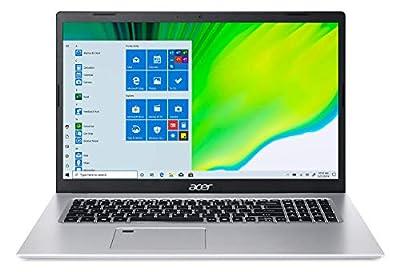 "Acer Aspire 5 A517-52-713G, 17.3"" Full HD IPS Display, 11th Gen Intel Core i7-1165G7, Intel Iris Xe Graphics, 16GB DDR4, 512GB NVMe SSD, WiFi 6, Fingerprint Reader, Backlit Keyboard by Acer"