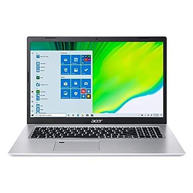 Acer Aspire 5 A517-52-59SV, 17.3″ Full HD IPS Display, 11th Gen Intel Core i5-1135G7, Intel Iris Xe Graphics, 8GB DDR4, 512GB NVMe SSD, WiFi 6, Fingerprint Reader, Backlit Keyboard
