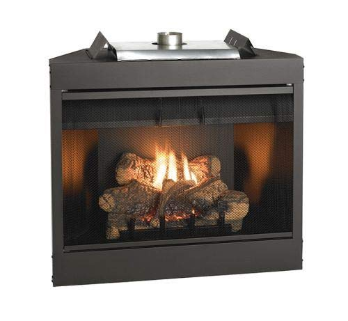 Empire Comfort Systems Deluxe 42 Keystone Series MV Louvered B-Vent Fireplace - Natural Gas