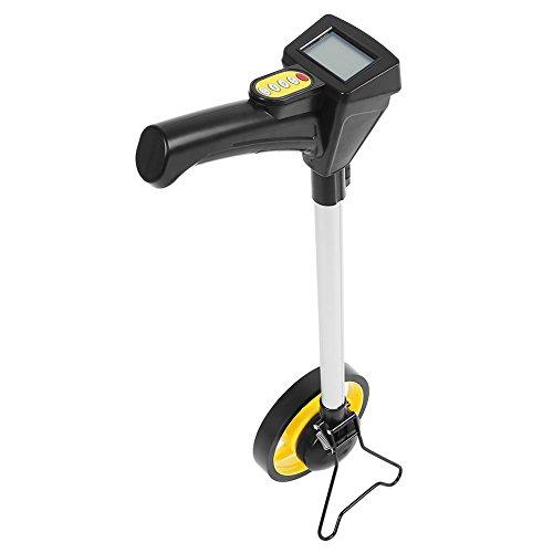 Rueda De Medición Distancia Odómetro de Mango Plegable para Topógrafos, Trabajadores de Construcció (Rango de Medida: 0-99999.9 m)