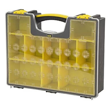 Stanley Consumer Storage 014708R 10-Compartment Deep Professional Organizer