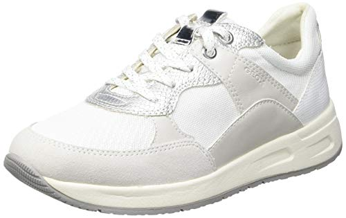 Geox D BULMYA B, Zapatillas Mujer, Blanco Crudo, 39 EU