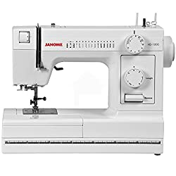 Janome HD1000 Heavy-Duty Sewing Machine Review!