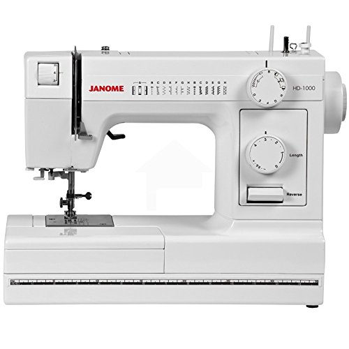 Janome HD1000 Heavy-Duty Sewing Machine with 14 Built-In...