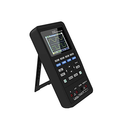 Kit Oscilloscopio Digitale, Generatore di Forme D onda Oscilloscopio Portatile Multimetro Portatile 3in1 2 Canali 70 MHz Miglior Kit Tester
