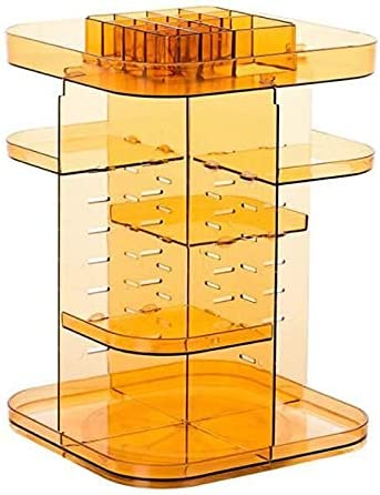 TFJJSQA Manufacturer Shipping included regenerated product Special Simple 360-degree Cosmetic Box Storage Rotating