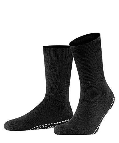 FALKE Unisex Socken, Homepads SO- 16500, Schwarz (Black 3000), 39-42