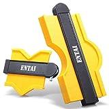 ENTAI 2-Piece Contour Gauge with Lock, 5 Inch and 10 Inch Contour Duplications Gauge, Profile Shape...