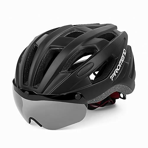 NVBXDF - Casco de Ciclismo con Ventosa magnética (57-62 cm), diseño de Bicicleta de montaña