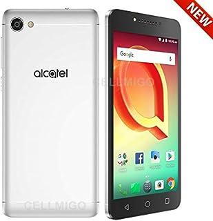 """Alcatel A50 5085G (16GB, 2GB RAM) 5.2"""" HD Display, 4G LTE GSM Factory Unlocked - US Warranty (Black/Silver)"""