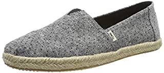 TOMS Alpargata Espadrille Black Tiny Chambray 10013523 Women's Size 5 (B07GHHXKFX) | Amazon price tracker / tracking, Amazon price history charts, Amazon price watches, Amazon price drop alerts