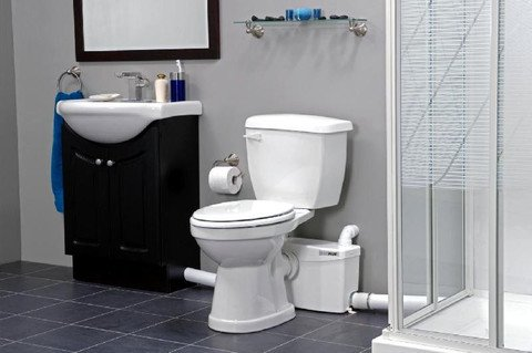 layout of bathroom