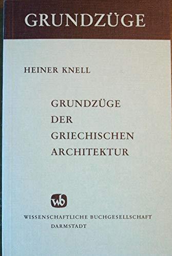 Grundzüge der griechischen Architektur