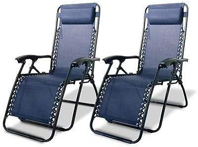Terrific Amazon Com Best Choice Products Set Of 2 Adjustable Zero Cjindustries Chair Design For Home Cjindustriesco