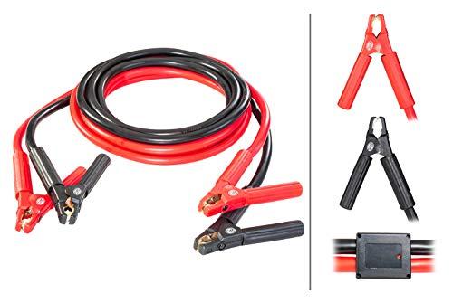 HELLA 8KS 236 694-001 Starthilfekabel - 12/24V - 750A - Kabel: 5m - mit Überspannungsschutz