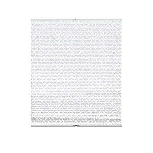 Gardinia Lissy - Estor Plisado (100 x 130 cm), Color Blanco
