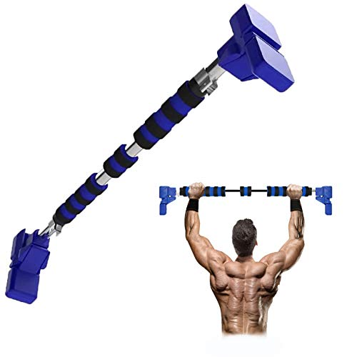 Primate Fitness® Pull Up Bar for Door Frame | No Screw Design | Adjustable 68-92cm | Quick & Easy Installation for Your Home Workouts
