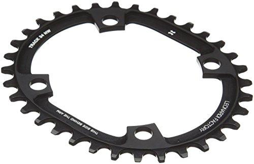 Leonardi Factory Oval Track BCD 104–Kettenblatt, schwarz 34 schwarz