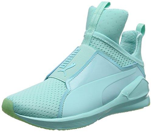 Puma Damen Fierce Bright Mesh Sneakers, Blau (Aruba Blue 04), 40.5 EU