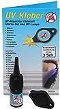 Kraftmann 80854 | Adhesivo UV, incluye lámpara UV | envase 3 g