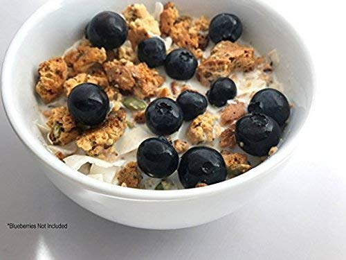 ProGranola 12g Protein : Peanut Butter Cluster : (Low Net Carb : Gluten-Free : Grain-Free) (14 Servings)