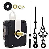 Youngtown 12888 Quartz DIY Wall Clock Movement Mechanism Battery Operated DIY Repair Parts Replacement,1/2 Inch Maximum Dial Thickness, 59/64 Inch Total Shaft Length.
