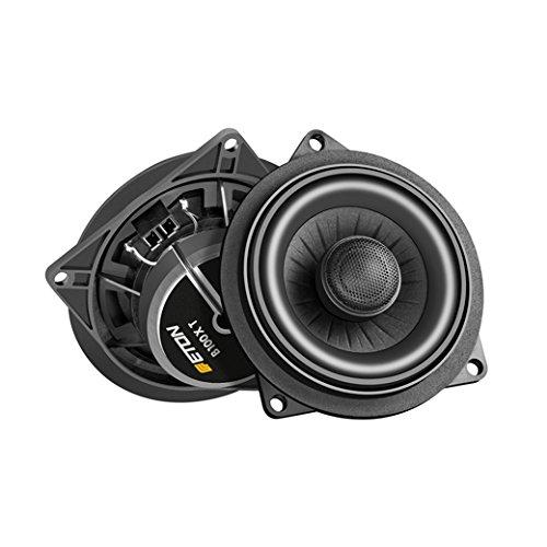 ETON B100XT Koax-Lautsprecher 10 cm 2-Wege Coax kompatibel mit BMW 1er Series E81, E82, E87, E88, BMW 3er Series E90, E91, E92, E93, BMW X1 Series E84