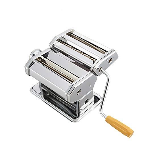Produttore di pasta in acciaio inox contiene pasta Roller con tagliapasta e ravioli Mold impostazioni di forza regolabili